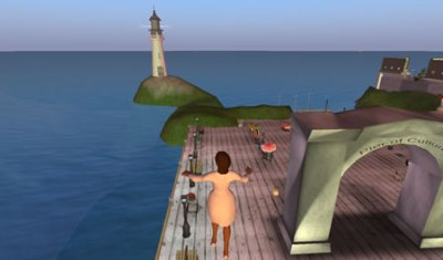 My first avatar in Second Life