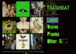 Nathan Barley's Website -Bells and whistles and too much junk