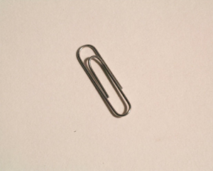 David Owens has his students come up with as many uses for a paperclip