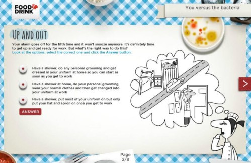 Example of good simple eLearning Design